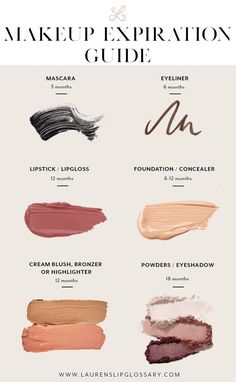 makeup and cosmetic expiration guide