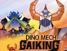 Shout Factory Streams Three 'Gaiking' Anime Features