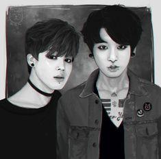 BTS Jimin & Jungkook Fanart