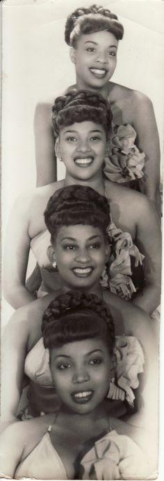Black Women in History — stereoculturesociety: CultureHISORY: Las Mulatas. Black Women in History — stereoculturesociety: CultureHISORY: Las Mulatas. Vintage Black Glamour, Vintage Beauty, Fashion Vintage, 1950s Fashion, Vintage Art, Women In History, Black History, Family History, Idda Van Munster