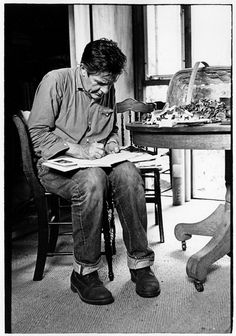 """""""To use art not as self expression but as self alteration."""" John Cage"""