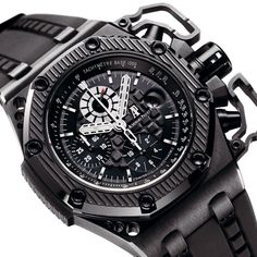 """Audemars Piguet Royal Oak """"Survivor"""" brought to you by Amazing Watches, Beautiful Watches, Cool Watches, Watches For Men, Stylish Watches, Luxury Watches, Mens Toys, Audemars Piguet Royal Oak, Hand Watch"""