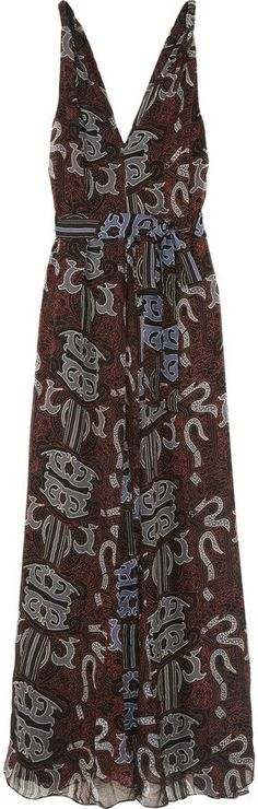 Pin for Later: Perfect Maxi Dresses For Lazy Spring Days  Maiyet silk-chiffon batik maxi dress (£1,170)
