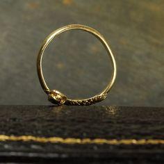 Vintage Japanese 18ct Gold Snake Ring (5)