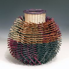 Contemporary Basketry by Kari Lonning, via Behance