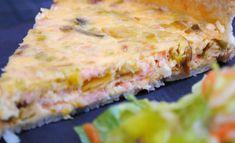 Quiche au Saumon Poireau et Boursin WW Boursin Recipes, Pizza Recipes, Healthy Recipes, Salmon Quiche, Salmon Tartare, Good Food, Yummy Food, Savoury Baking, Smoked Salmon