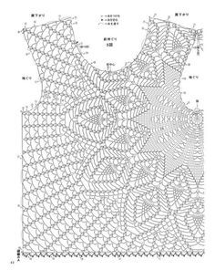 Beautiful Crochet Patterns and Knitting Patterns - Browse our thousands of free crochet patterns and knitting patterns. Blouse Au Crochet, Gilet Crochet, Black Crochet Dress, Crochet Shirt, Crochet Stitches, Pull Crochet, Easy Crochet, Knit Crochet, Irish Crochet