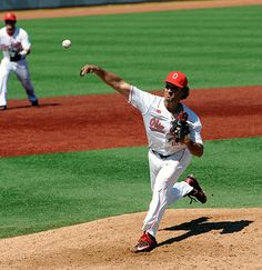 Yianni Pavlopoulos, who faced one hitter, retired him on a routine fly ball and earned his eighth save of the season. Baseball 2016, Osu Baseball, Baseball Field, One Hitter, Buckeyes, Routine, Big, Face, Baseball Park