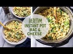 Healthy Instant Pot Mac and Cheese - The Girl on Bloor