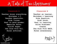 Classroom by KTVee, via Flickr