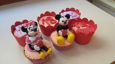 Dedicatoria Mickey y Minnie