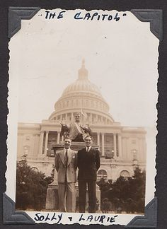 "Larry and Solly, ""The Capitol"" 1939"