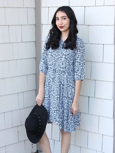 Relished Penny Lane Paisley Swing Dress