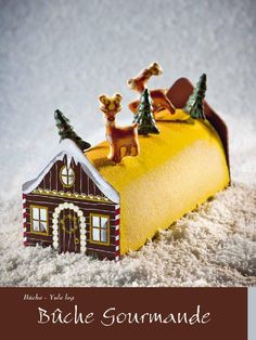 MC Recipe Christmas Yule Log :: Bûche Gourmande  Yule Log - Bûche Bilingual Recipe (EN/FR) recette bilingue (EN/FR)