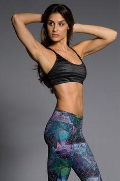 ONZIE Elastic Bra Top - Slate #fitness #yoga #tops #workout SHOP @ FitnessApparelExpress.com
