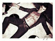 Paul Wesley. (Stefan) From The Vampire Diaries.