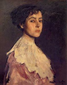 Portrait of a Woman (Elena Hascke) - Corneliu Baba Post Impressionism, Impressionist, Female Images, Female Art, Honore Daumier, Western Art, Woman Face, Painting & Drawing, Art Gallery