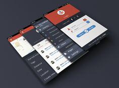 "Vuelve el diseño plano: ""Flat Design"" TinyLove Mobile App by Balraj Chana (London, UK) #GraphicDesign #FlatDesign"