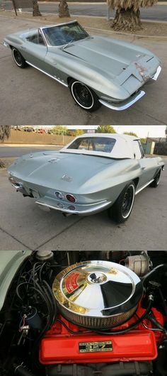 Chevrolet Corvette, Chevy, Sports Cars For Sale, Sport Cars, Convertible, Manual Transmission, Vintage, Leather, Infinity Dress