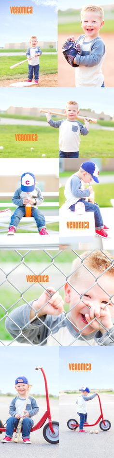 cute little baseball player~Veronica Reeve Photography