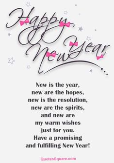 21 happy new year poem – happy new year poem 2020 New Year Wishes Images, New Year Wishes Messages, New Year Wishes Quotes, Happy New Year Images, Happy New Year Cards, Quotes About New Year, New Quotes, Quotes Images, Daily Quotes