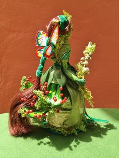 Hada Drosera Christmas Ornaments, Holiday Decor, Home Decor, Fantasy Characters, Woods, Faeries, Hand Made, Decoration Home, Room Decor