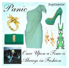 """Disney Style: Panic"" by trulygirlygirl ❤ liked on Polyvore featuring Disney, Vince Camuto, H&M, disney, hercules and panic"