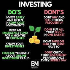 Investing 101 - Finance tips, saving money, budgeting planner Business Coach, Business Money, Business Tips, Online Business, Bank Of America, Investment Tips, Investment Books, Jacksonville Florida, Investing Money