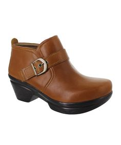 Love this Camel Norma Leather Bootie - Women on #zulily! #zulilyfinds