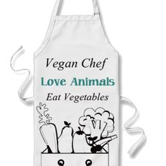 The Vegan Woman Kitchen Apron 1 Products Gifts Themes Vegans