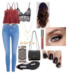 """A Cool Summer Day"" by kayrod29 on Polyvore featuring Anine Bing, Paige Denim, Aéropostale, Steve Madden, Givenchy, LULUS, Perricone MD and New Look"
