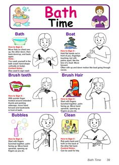 Sign Language Chart | Kiddo Shelter