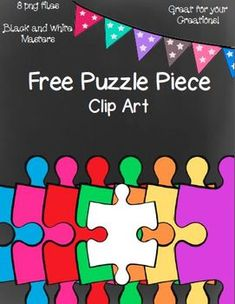 This is a zip file of 8 png images of a puzzle piece. You can use for personal or commercial use. Please give credit to myself and provide a link back to my TpT Store.To download my terms of use, please click on the link   http://www.teacherspayteachers.com/Product/Terms-of-Use-799345 If you have questions, concerns, or suggestions, please feel free to email me at teachcreativetothecore@gmail.com.