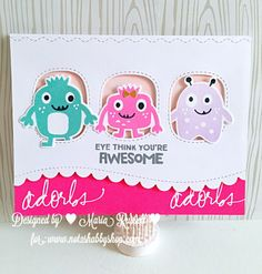 MFT Stamps Monster Love – Maria Russell Designs
