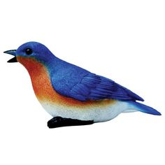 Michael Carr Designs 80033 Blue Bird Outdoor Statue Chirper *** You can get more details by clicking on the image. This Amazon pins is an affiliate link to Amazon.