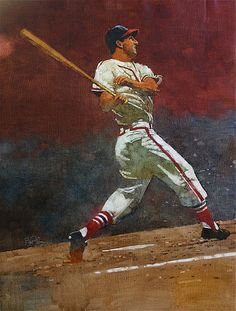 Stan Musial by Bart Forbes