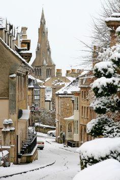 Winter in Stamford, Lincolnshire