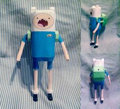 Finn (and Jake) Adventure Time Papercraft  Name:  Finn  Type:  Human  Interesting Facts:  April Fool's model for 2012! I wish you liked it....