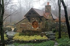 This is a real house in Chester County, PA