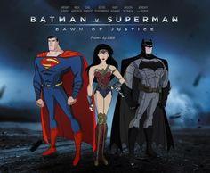 #batmanvsuperman #animation #dccomics #dccomicsnews Batman Vs Superman, Superman Dawn Of Justice, Superhero Movies, Aquaman, Dc Comics, Dc Trinity, Justice League Unlimited, Batman Wonder Woman, Supergirl 2015