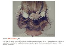 Our gorgeous Milly headband in Elle | Minna.co.uk