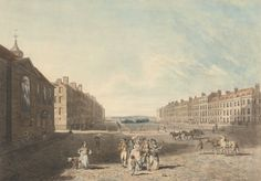 Queen Square, London 1786 by Edward Dayes - Queen Square, London - Wikipedia