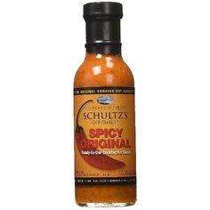 Schultz's Gourmet Schultz Spicy Original Sauce (6x13 Oz)