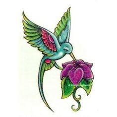 Free Hummingbird   Tattoos Of Humming Bird: Hummingbird Tattoo Designs Free