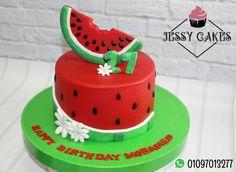 Watermelon cake - cake by Yasmin Amr