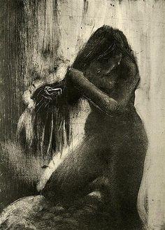 Monoprint by Degas | Flickr - Photo Sharing!
