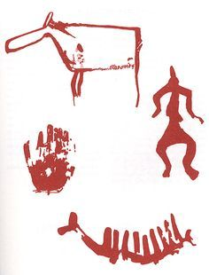 kalliomaalaukset suomi - Google Search Prehistoric Age, Stone Age Art, 4th Grade Art, Prehistory, Ancient History, Rock Art, Finland, Rock And Roll, Art Projects