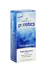 Puristics Totally Ageless Night Recovery Cream Lot Of 4                            $20