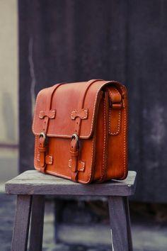 Handmade Genuine Leather Messnger Bag, Laptop Shoulder Bag, Satchel Bag