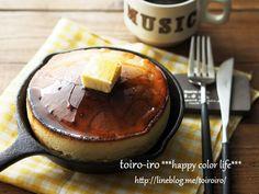 トイロー厚さ5㎝!トースターで作るスキレットホットケーキ